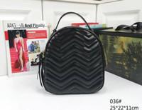 소녀 Marmont PU 가죽 핸드백 여성 가방 어린이 학교 가방 배낭 유명한 레이디 배낭 가방 여행 가방