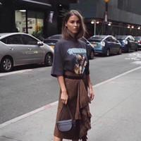 18FW 럭셔리 Speedhunters 밴드 관절 밴드 T 셔츠 패션 오버 사이즈면 인쇄 짧은 소매 남성과 여성 커플 디자이너 티 HFWPTX290