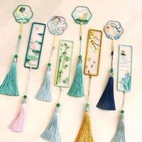 Anahtarlıklar DIY Nakış Klasik Yer İmleri Womans Anahtarlık Antika İğne El Yapımı Kolye Anahtarlık Kızlar Yaratıcı Imi Jewelry1