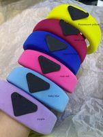 Diseñador P diadema grande niños esponja color caramelo color palitos de pelo banda de pelo chicas viejas accesorios deportivos A4470