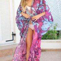 Vestito da donna Sexy Cover Up Beach Boho Maxi Abito Costume da bagno Sundress 2019 Vendita più nuova Vendita calda Robe Femme Ropa Mujer Elegante Y54o #