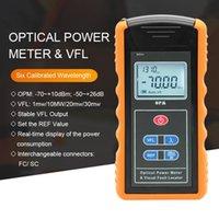 Faseroptikausrüstung 2 in 1 Fuctions TM203N-A-V10 FC SC VFL-Leistungsmesser 10MW 650NM OPM optisch 6 Wellenlänge -70 ~ + 10 dBm -50 ~ + 26 dBm
