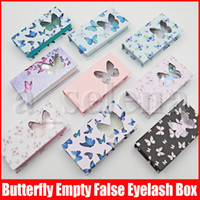 Butterfly Mink Eyelash Box False Eyelashes Packaging Mink Ey...