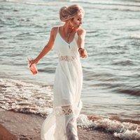 2020 neue Cover-Ups Sommer Frauen Strand Tragen Weiße Baumwolle Tunika Kleid Bikini Bad Sarong Wrap Rock Badeanzug Cover Up Ashgaily Q1222