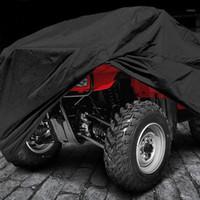 دراجة نارية غطاء ماء التمويه الأسود atv دراجة نارية رباعية الدراجة سكوتر كارت أغطية l xl xxlstorage حقيبة هدية 1