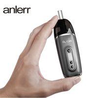 100 % 오리지널 오우로라 드라이 허브 기화기 0.49 인치 OLED 스크린 2200mAH 배터리 연도 - 경화 된 담배 장치 DHL