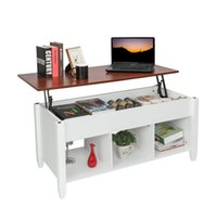 Lift Top Coffee Table Modern Furniture Hidden Compartment an...
