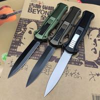 Benchmade BM 3300 3310 OUT CNC automática faca o Double Action Auto D2 ponta de lança de aço frente Plain Tactical Sobrevivência Ferramentas faca