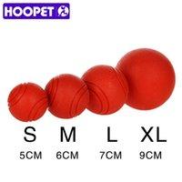 HOOPET игрушки собаки резиновый мячик Укус резистентных Собаки Щенок Teddy Pitbull зоотоваров