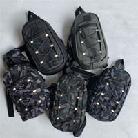 Cptopstone Männer Outdoor Camouflage Messenger Bag Herren Multifunktionale Umhängetasche Gezeiten Marke Tactical Brust Tasche Rucksack