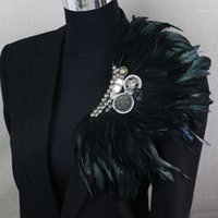 Épingles, Broches Boutonniere Clips Collier Broche Pin De Mariage Costume De Mariage Banquet Fleur Fleur Corsage Party Bar Bijoux Badges d'épaule1