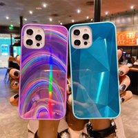 Diamant-Regenbogen 3D-Spiegel-Kasten für Sansung Galaxy S20 FE S10 Lite S9 S8 Plus-Anmerkung 20 Ultra-bunte Funkeln-glänzende Laser-Abdeckung