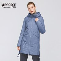 Kadın Aşağı Parkas Miegofce 2021 Kadın Pamuk Yastıklı Ceket Bahar Tasarımları Ceketler Hood Uzun Sıcak Moda Mont Ile Anne Için