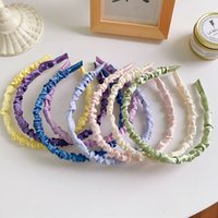 New Cute sweet Hair Accessories Wide Shiny Candy Hairbands B...