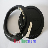 AF Confirm Chip Adapter For G AI AF-S F Lens to EOS EF Camera 7D 60D 300D 400D 500D 550D 600D 350D 450D Rebel + CAP