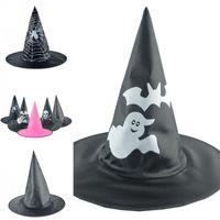 Assistant Chapeau Halloween Chapeaux mode Caps Décoration Sorcière Magique Black Ghost circulaire Spire Spider Web Enfants Adultes 2 8mx F2