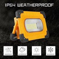 Zasoby 100W Latarka LED Lights Solar Energy Work Light USB Lampy kempingowe Przenośne lampy na zewnątrz