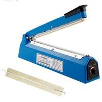 Vacuum Aliments Scellant Machine Élimine Scellant Heat 200mm / 300mm Cuisine Sac plastique Paquet d'emballage Envoyer un fil de chauffage1