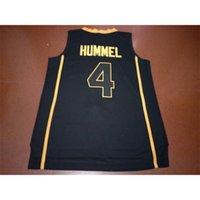 Benutzerdefinierte 604 Jugendfrauen Vintage # 4 Purdue Robbie Hummel Basketball-Jersey Größe S-4XL oder benutzerdefinierte Name oder Nummer Jersey