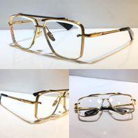للجنسين m ستة نظارات شعبية المعادن خمر النظارات البصرية الأزياء نمط مربع فرملس uv 400 عدسة مع حالة أعلى جودة حار بيع