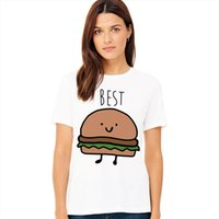Funny Design Best Friend Matching T Shirt Bff T Shirt Women ...