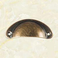 Botões de armário vintage e punhos armário armário armário gaveta mobília antiga casca handles puxa 11 estilo HH7-2041 156 g2