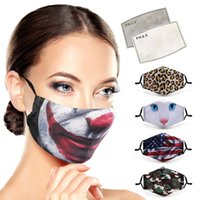EWA2575 Masks Of Dust-proof Breathable Sales Designer 3D Face Lvdj Mask Personalized Printed And Cross-border Parody Ear-hanging Filter Rrqe