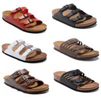 Dame Original Stil Hohe Qualität Flache Schaffell Hausschuhe Echtes Leder Sandalen Heiße Frauen Neue Mode Flat Home Beachmen Schuhe Flip Flop