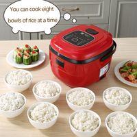طباخ الأرز الذكي الذكية ذكي أوتوماتيكي طباخ المطبخ المنزلية 3-5 أشخاص محمول الحفاظ على طاولات الأرز الكهربائية