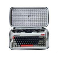 Caso Storage Box di protezione Shell duro di Borsa per DURGOD Fusion 68-chiave di Bluetooth il 60% tastiera meccanica