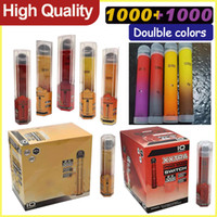 Bang XXL PRO MAX 스위치 일회용 VAPE 로컬 1000 + 1000 퍼프 더블 컬러 6ml 미리 채워진 증기 휴대용 카트리지 포드 XTRA VS 퍼프 바