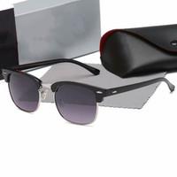 Lüks Yeni Marka Polarize Güneş Gözlüğü Erkek Kadın Pilot Güneş Gözlüğü UV400 Gözlük Gözlük Metal Çerçeve Polaroid Lens 3016