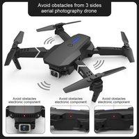 E525 PRO 4K HD Dual-Kamera Mini-Drohne, Auto Obstacle Avoidance auf 3 Seite, Spur Flug, Smart-Folgen, Altitude Hold, Kind-Spielzeug-Weihnachtsgeschenk, USEU