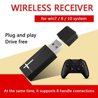 Multi- functional 2. 4GHz PC Gamepad Controller Adapter USB Jo...