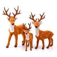 زينة عيد الميلاد Fengrise for Home Navidad 2021 سنة Santa Claus Banner Reindeer Elk قلادة الحلي 20211