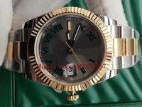 BP Factory Mens a estrenar 126333 DateJust 41mm 18k Dial de oro amarillo de oro con movimiento de escala romana Relojes automáticos Casuales Classic