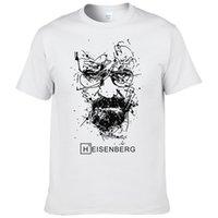 Nueva Moda Heisenberg rompiendo malas camisetas hombre camisetas hombre hombres fresco camiseta tops manga corta algodón camisetas Y200422