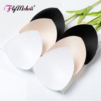 Intimates Accessoires 10 paires / lot femmes soutien-gorge Triangle Sponge Swewsuit Tampot Poitrine Coffre de la poitrine Mousse Push Up insert1