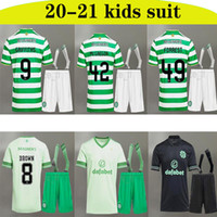 20 21 Celtic FC Football Maillots MCGREGOR GRIFFITHS 2020 2021 DUFFY FORREST BROWN CHRISTIE EDOUARD BAYO Accueil enfants + chaussettes de football Chemises 2020