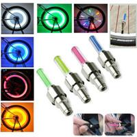 LED فلاش صور عجلة صمام ضوء كاب للسيارات الدراجات النارية LED ضوء عجلات
