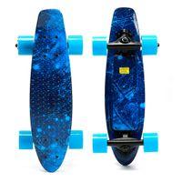 США сток, небесно-голубой четырехколесный электрический скейтборд мода личный транспорт мини электрический скейтборд с удаленным w34815708