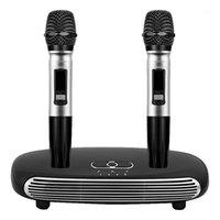 TV bilgisayar için cep telefonu mikrofon ev bluetooth k şarkı makinesi1