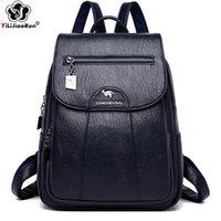 HBP الأزياء حقيبة الظهر للسيدات حقيبة الكتف لينة الجلود حقيبة المرأة حقيبة سفر أكياس مدرسية كبيرة للمراهقات كيس دوس