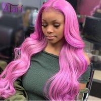 레이스 가발 투명 한 인간의 머리카락 도매 가격 바디 웨이브 프론트 페루 버진 정면 가발 표백제 노트