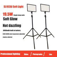 Éclairage de remplissage doux LED Photography Vidéo Ensemble de diffusion en direct Studio Professional Film et télévision