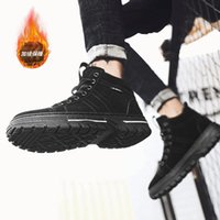New Boots Men Winter Snow Boots Men Outdoor Activity Sneakers Warm Lace Up High Top Fashion Shoes Safety