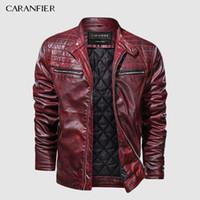 2020 nuevos chaquetas de cuero para hombre Abrigos de cuero otoño Casual Chaqueta de motocicleta masculina Chaquetas Motoristas Masculinas Tamaño de la UE Dropshipping