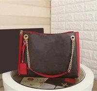 37 سنتيمتر جودة عالية 100٪ جلد طبيعي تسوق حقيبة يد جذع malle حقيبة سورا bb حمل taurillon حقيبة الكتف الفاخرة مصممي حقيبة 43758