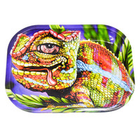 HONEYPUFF New Metal Rolling Tray With Mix Pattern Cigarette ...