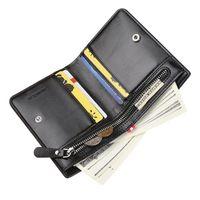 Charm Men's Essential Wallet Short Vertical Men's Zipper Wallet Multifunctional Coin Purse 2020 Hot Products